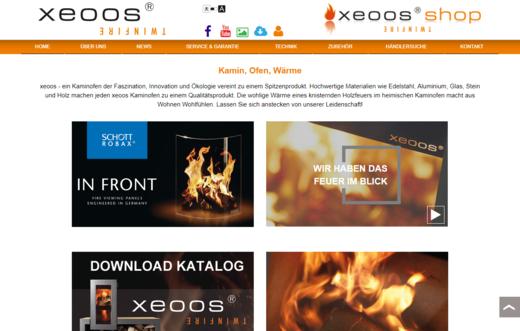 Neue xeoos Webseite